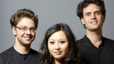 Youthful ... Debut Australian tour for the Sitkovetsky Trio.