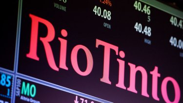 Mining company Rio Tinto is named by the campaign as among the world's top 100 polluting companies.