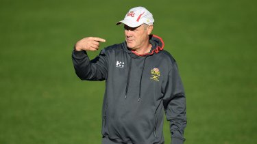 Rodney Eade was sacked as Gold Coast coach.