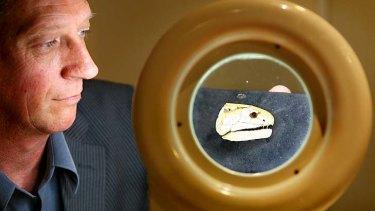 Flinders University paleontologist John Long.