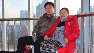 You Yongquan and Jie Li, who is pregnant, say they planned for their child to arrive in the Chinese year of the dragon.