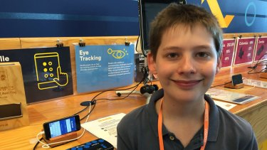 At age 13 Hamish Finlayson is the youngest entrepreneur at the Global Entrepreneurship Summit.