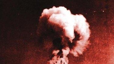 The Nagasaki blast.