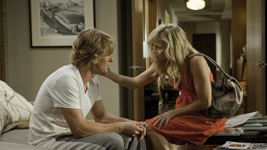 Why so serious?: single lady Lisa (Reese Witherspoon, right) consoles her sort-of boyfriend Matty (Owen Wilson) in the above-par James L Brooks rom-com How Do You Know.