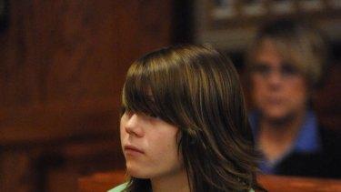 'Pretty enjoyable' ... Alyssa Bustamante in court in 2009.