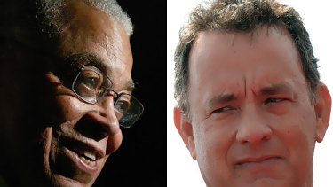 James Earl Jones and Tom Hanks topped the Forbes list of the most trusted celebrities.