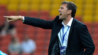 Cracking the winning code: Wanderers coach Tony Popovic.