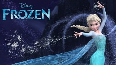 Elsa from <em>Frozen</em> has become a hit with children worldwide.