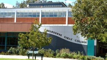 Melbourne Girls' College in Richmond.