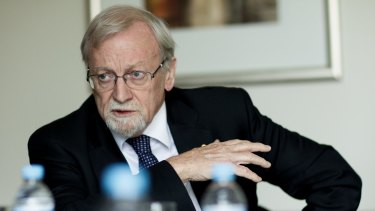 "Gareth Evans has urged Australia to accept China as a legitimate ""global rule-maker""."