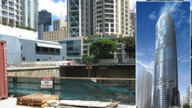 The site of the Vision Tower project has been sold off by liquidators.