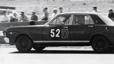 The XR GT Falcon, which won the 500 mile Bathurst race in 1967.