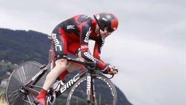 """I always look like I am suffering"" ... dual Tour de France runner-up Cadel Evans."