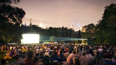 Get your movie fix in the moonlight at Melbourne's open-air cinemas.