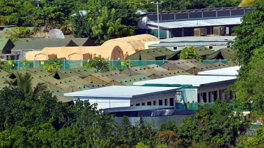 An asylum seeker on Nauru described the environment on the island as ''like a mental hospital''.
