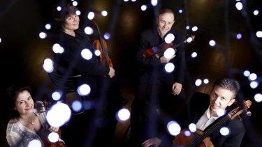 Twenty-year affair: The Goldner String Quartet are Australian favourites in the Music Viva program.