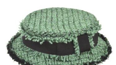 Mint Chanel: hat from Leonard Joel