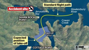 The plane took a marked detour from its approved route before crashing.