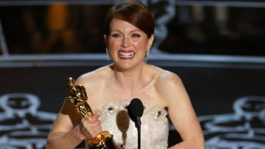 Julianne Moore won best actress for <i>Still Alice</i>.