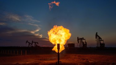 Nearly 70 per cent of all gas produced in Australia would leave the nation's shores, the IEA said.