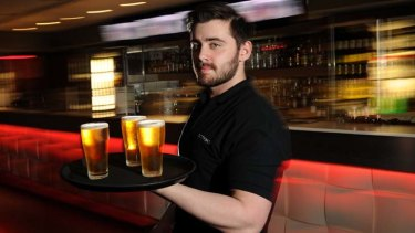 Jim Fitzgerald is a bartender at Strike Bowling in the CBD.
