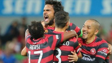 The Wanderers have qualified for the grand final in each of their only two seasons in the A-League.