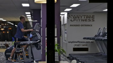 Anytime Fitness was the only gym business on the register, with 17 complaints.