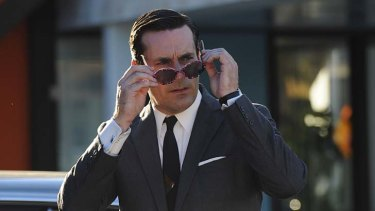 Mad man: Jon Hamm as Don Draper.