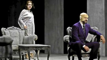 Tamar Iveri and Jose Carbo in Opera Australia's A Masked Ball.
