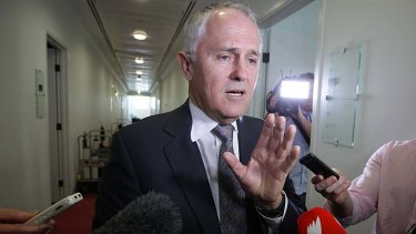 Malcolm Turnbull ... says the Premier needs ''to take charge and rescind''.