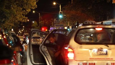 Hailing changes for taxis ... the state government plans to address changeover bottlenecks.