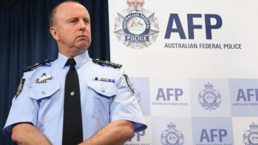 """""""Legitimate weapon"""": AFP Assistant Commissioner Neil Gaughan said on Q&A the sword was not plastic."""