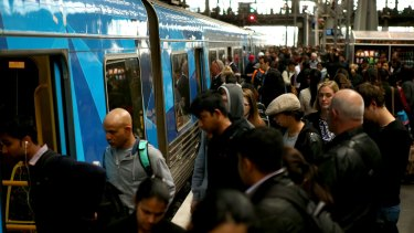 Southern Cross station is struggling to cope with a surge in passenger numbers.
