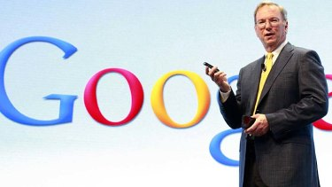 """It's called capitalism"" ... Google executive chairman Eric Schmidt."