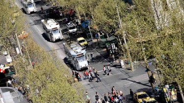 Swanston Street may remain free of cars despite Lord Mayor Robert Doyle's desire to re-open it to traffic.