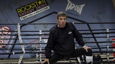 Back home ... Michael Katsidis is ready for Saturday's fight. ''Boxing is like life, it's hard work and the ring is the toughest place in the world.''