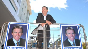 """""""Healthy"""" ... Rob Oakeshott likes the prospect of a hung parliament."""