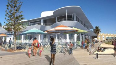 An artist's impression of the Bathers Beach House, which will open later this year.