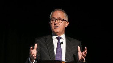 Communications Minister Malcolm Turnbull at the online copyright panel infringement forum on Tuesday.