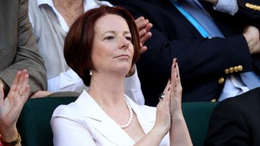 """She [Julia Gillard] once even talked about unleashing the ""real"" Gillard. This week, I gave up waiting""."