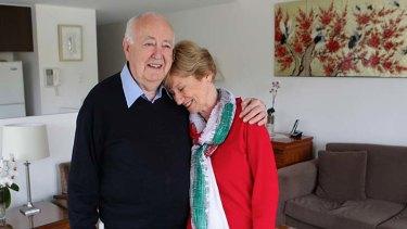 Five-fold rise … Helen Ingleby and her husband, Ian.