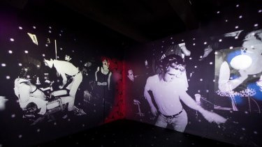 The Andy Warhol Museum, Pittsburgh, Exploding Plastic Inevitable (EPI).