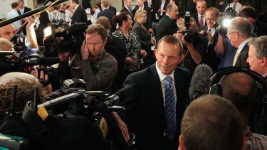 """""""The next few years are going to be very tough"""" ... Tony Abbott."""