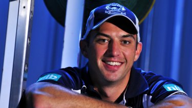 Geelong's new rookie , 28-year-old James Podsiadly.