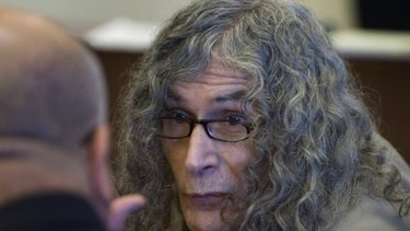 ''Unspeakable acts of horror'' … Rodney Alcala in court in Santa Ana, California, last week before being convicted of murdering a 12-year-old girl and four women in the late 1970s.