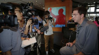 Glenn Greenwald speaks about his interview with Edward Snowden.
