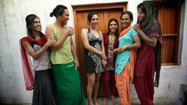 Mona, Koyal, Ritu, Sonia and Poppy are members of Delhi's hijra community.