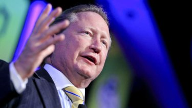 Fortescue chairman Andrew Forrest has lost the Hight Court challenge.