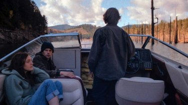 Death and glory: From left, Dakota Fanning and Jesse Eisenberg in the film Night Moves.