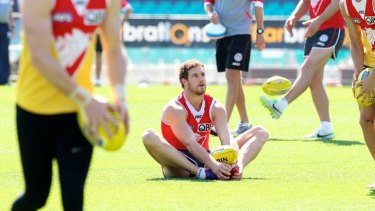 Greater Western Sydney has come to terms with Swans premiership ruckman Shane Mumford.